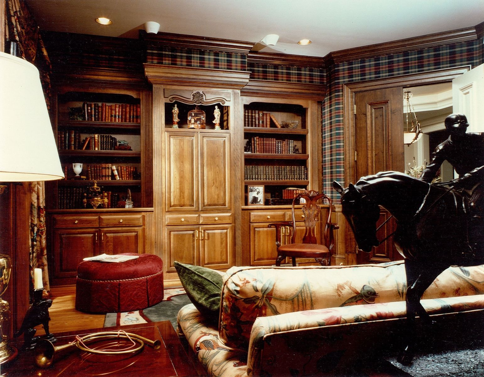Elegant Home Library Interior Design | Incredible Sumptuous Home ...