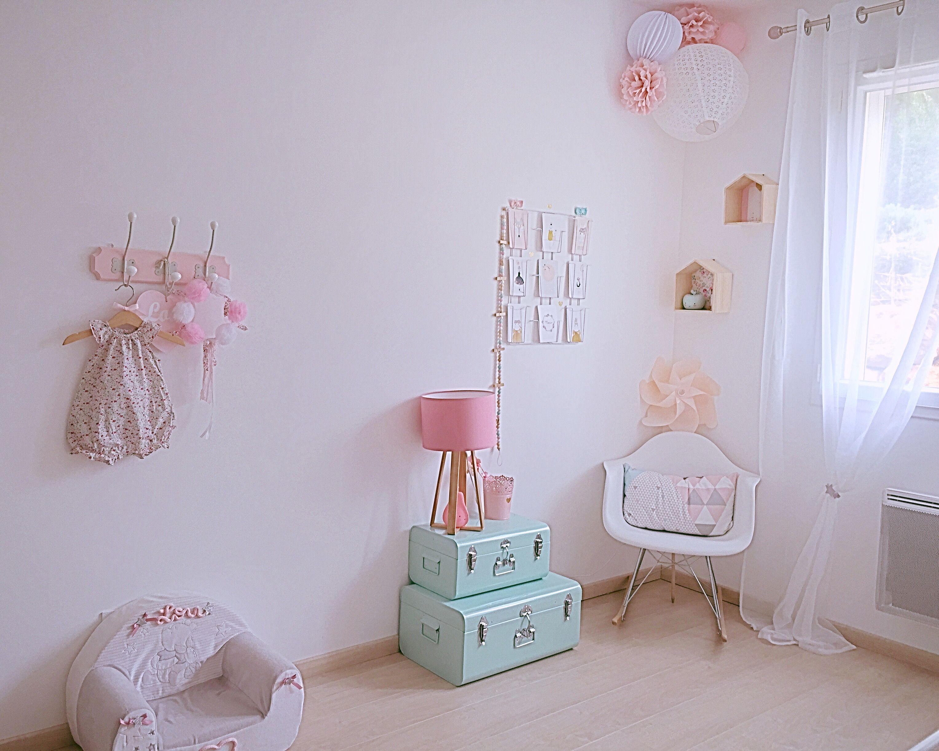 Stunning dcouvrez la chambre pastel de lou sur chambrebebe - Deco chambre pastel ...