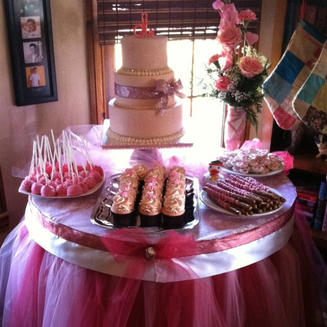 baby girl baby shower dessert table cami s cake co baby shower