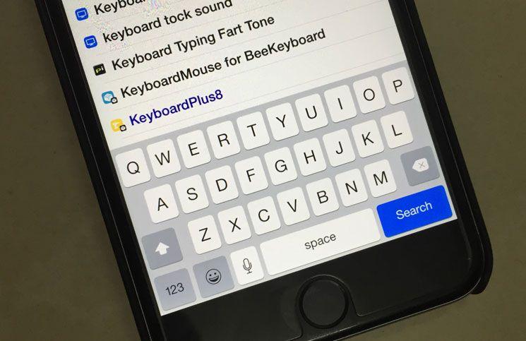Best Ios 8 4 Keyboard Cydia Tweaks To Use Your Idevice Keyboard With Ease Ios 8 Keyboard Keyboard Typing