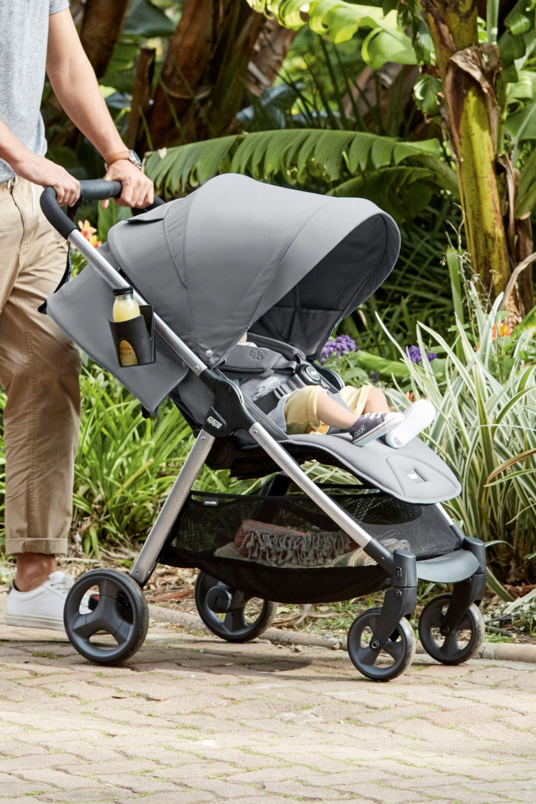 Oyster Double Pram Mothercare Mamas Papas Armadillo Pushchair Grey Products In 2019