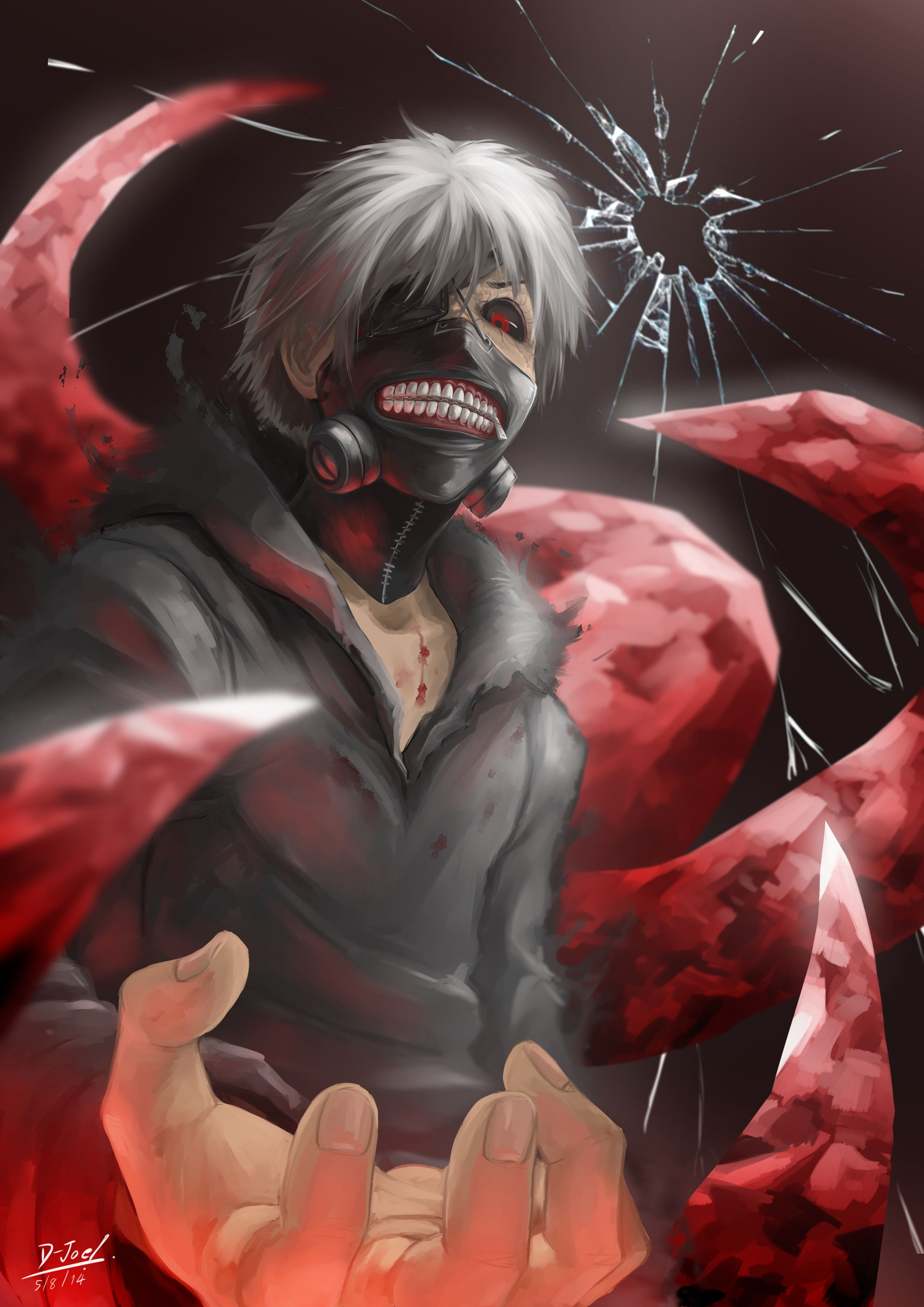 Kaneki Tokyo Ghoul anime anime Pinterest Tokyo