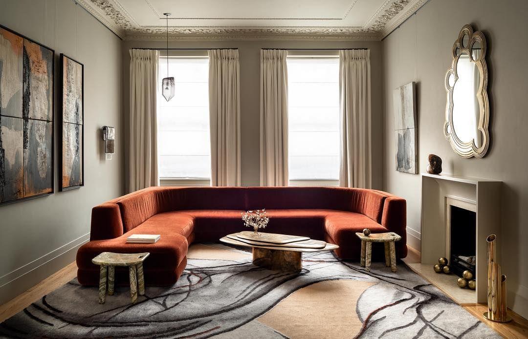 The Alexandra Sofa Designed By
