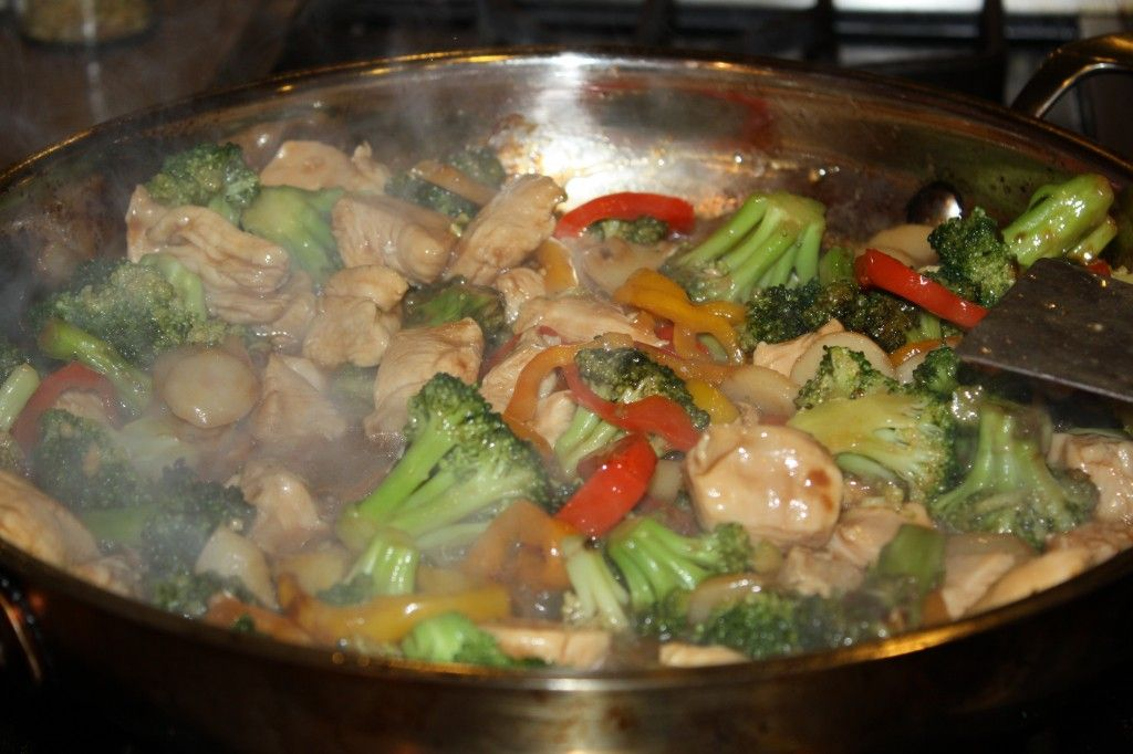 Chicken Broccoli Stir Fry #CleanEating from scratch - but easy!!