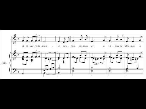 """Primária Musical: Vídeo - Hino """"As Regras de Fé"""""""