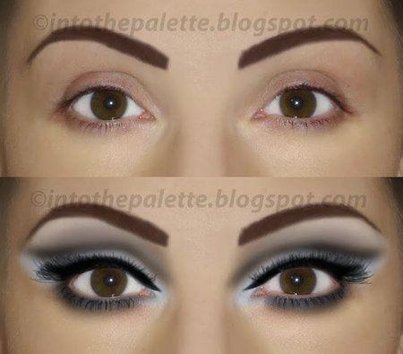 A Modernized 60 S Eye Makeup Tutorial 60s 60smakeup Makeup