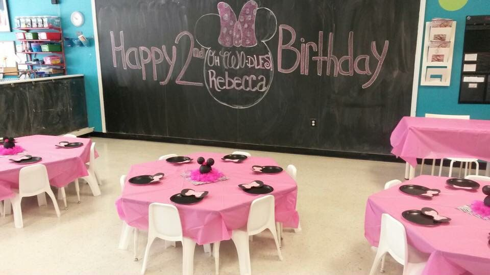 Minnie Mouse themed Birthday Party at Amaya Papaya Playlounge in Casselberry, Fl.