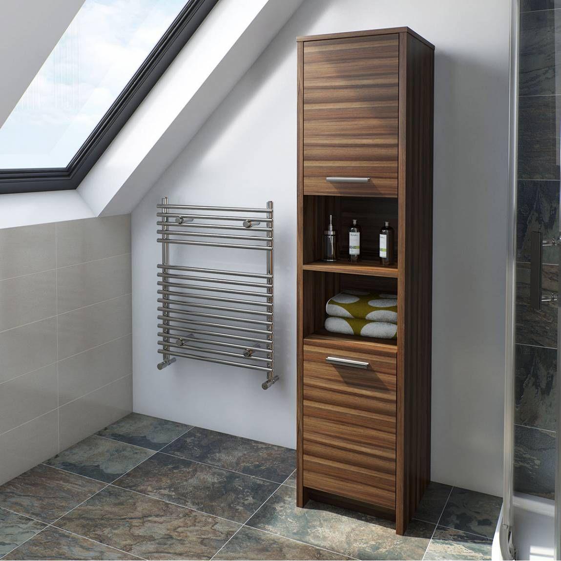 Smart walnut tall unit bathroom ideas for the house pinterest