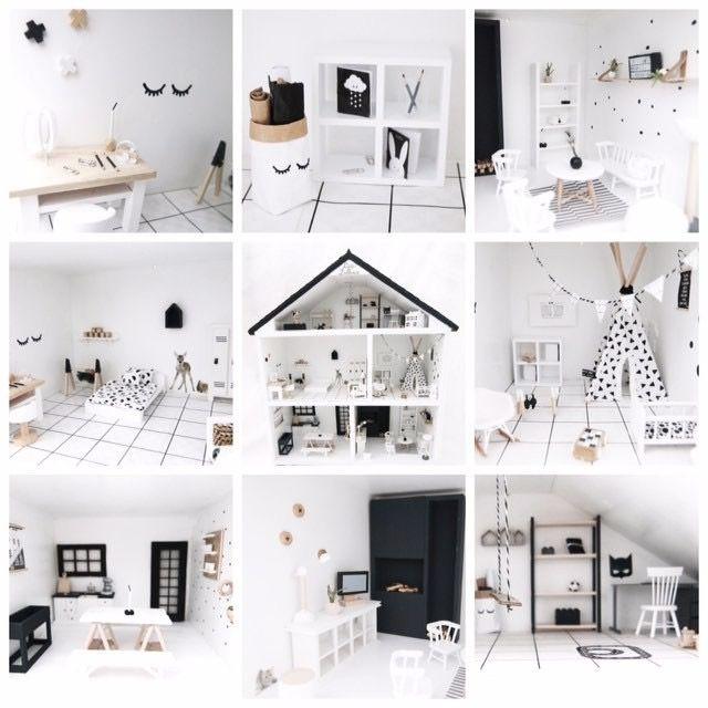 Inspiratie voor diy poppenhuis project moderndollhouse for Poppenhuis voor barbie