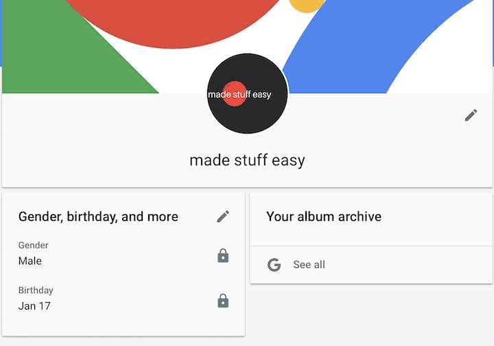 How To Remove Gmail Profile Picture Profile Picture Profile Album