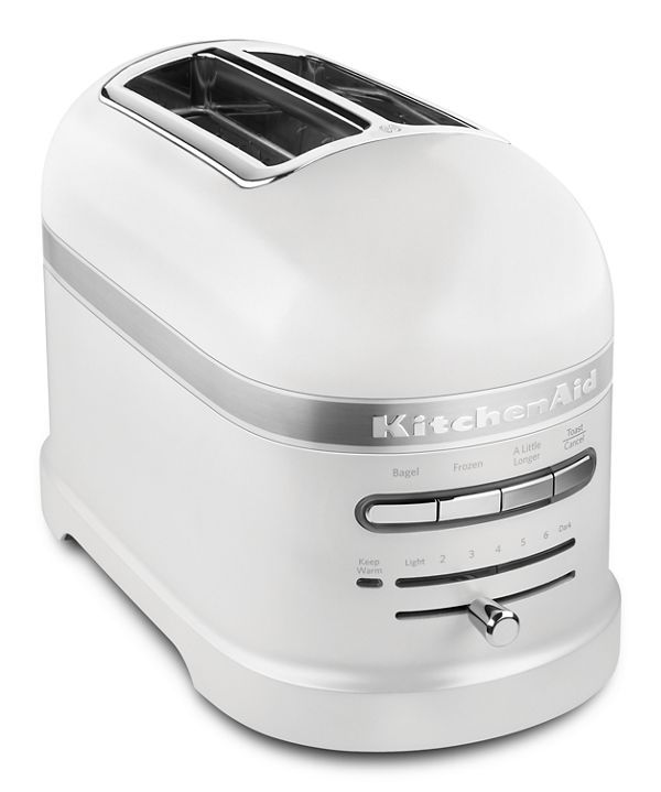 Frosted Pearl White Pro Line Series 2 Slice Automatic Toaster Kmt2203fp Kitchenaid In 2021 Kitchenaid Toaster Kitchenaid Toaster Oven Toaster