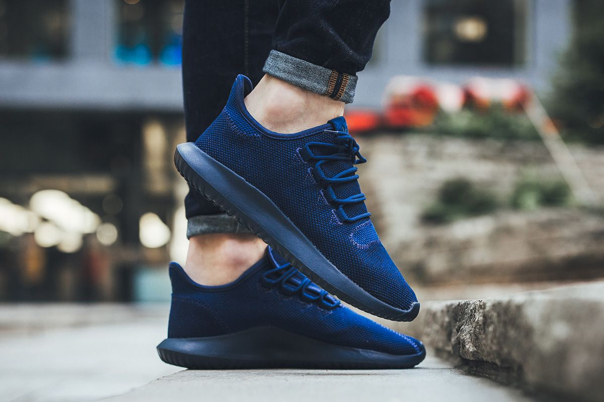 Adidas Tubular Knit Navy