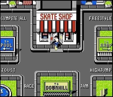 Skate Or Die User Screenshot 10 For Nes Games Video Game Music Classic Video Games