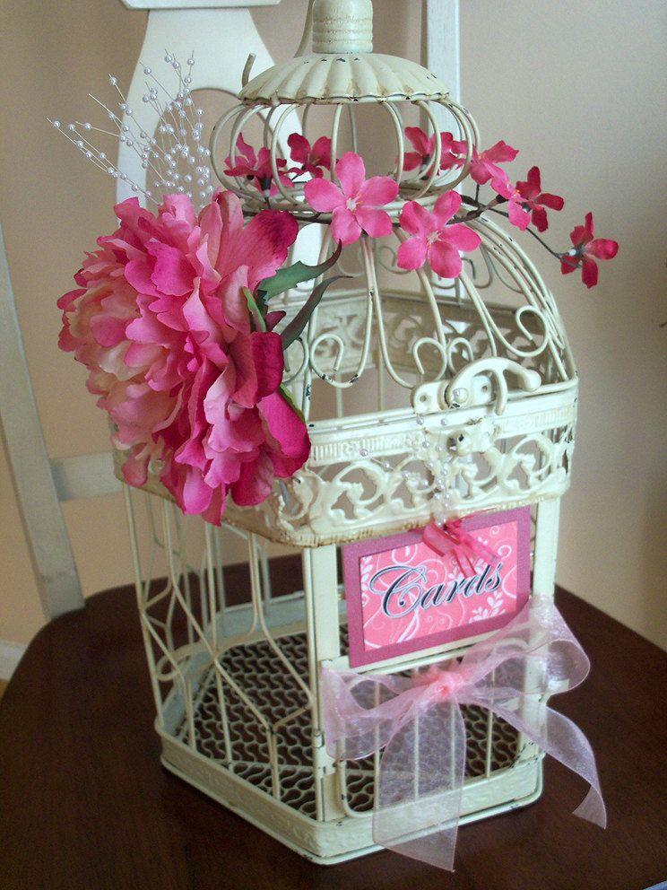 birdcage card holder wedding google search