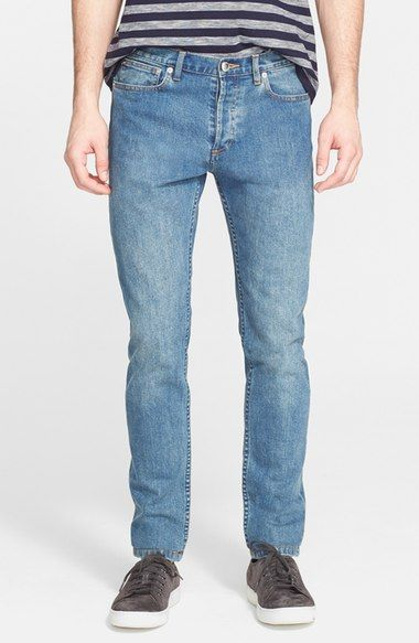 A.P.C. 'Petit New Standard' Skinny Fit Jeans (Indigo). #a.p.c. #cloth #