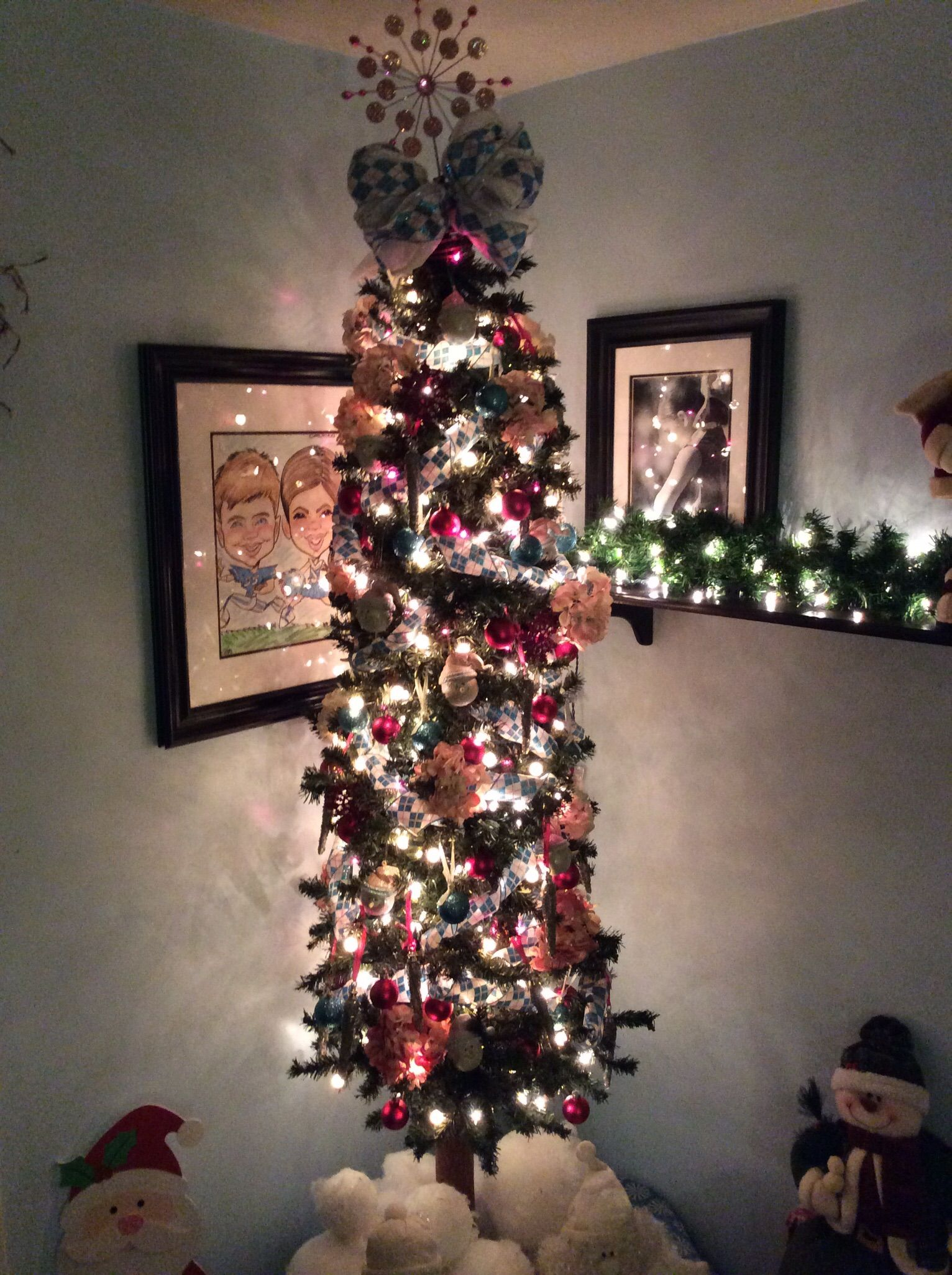 Pencil Tree Made From Cheap Alpine Ac Moorestyrofoam Balls To Look Like Big Snow