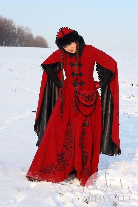 Mittelalter umhang winter