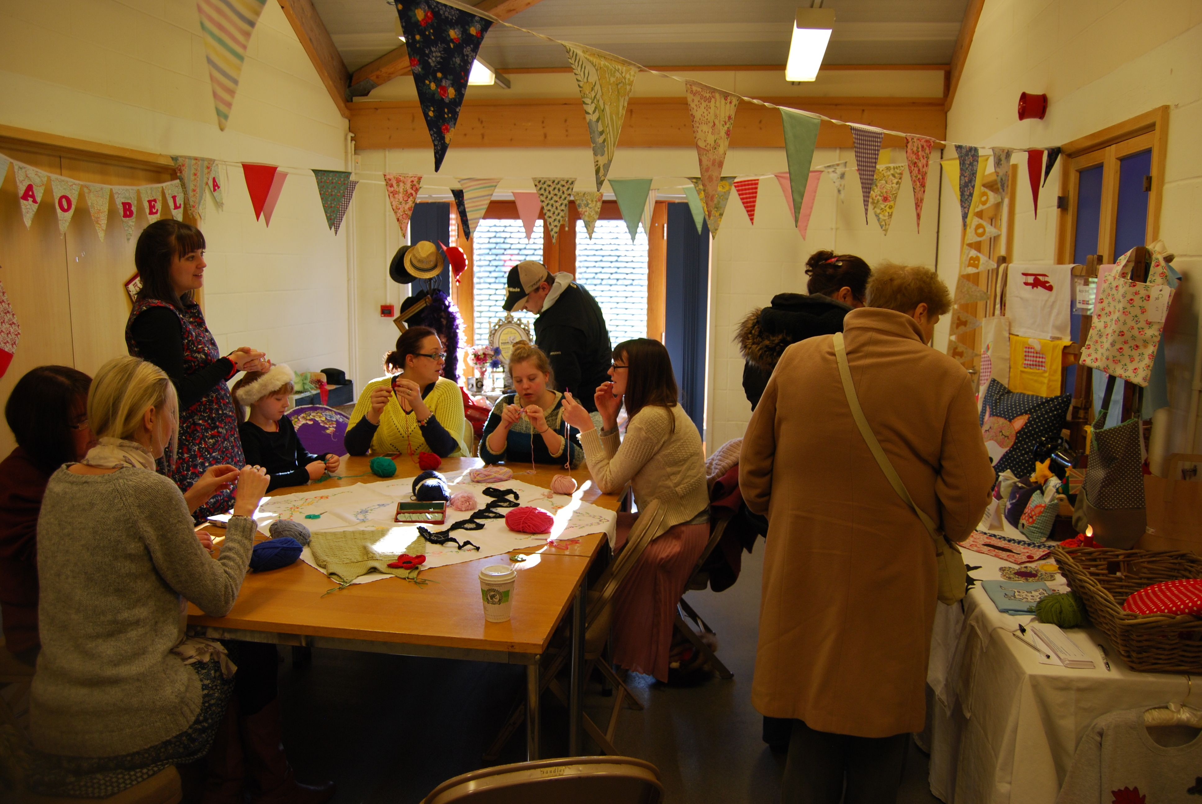 Bluntisham Village Hall Small Business Saturday www
