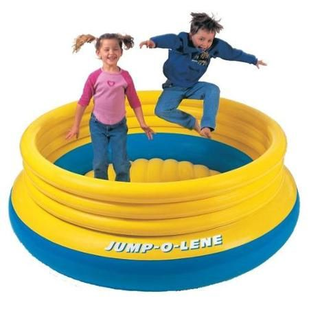Toys Bouncer For Kids Inflatable Bouncers Backyard Trampoline