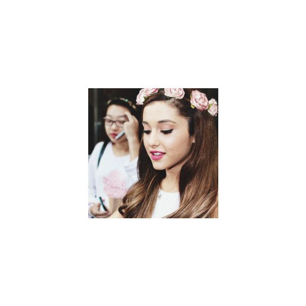 Tumblr ❤ liked on Polyvore featuring ariana and & square pictures