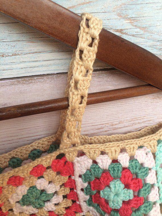 Crochet hombros abiertos de verano encaje superior ética | Etsy ...