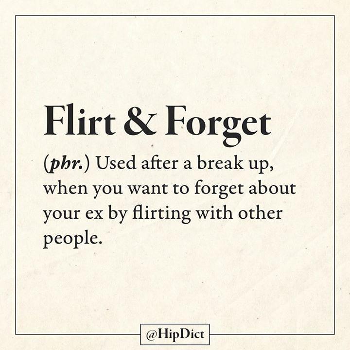 Defini i cuvantul flirt