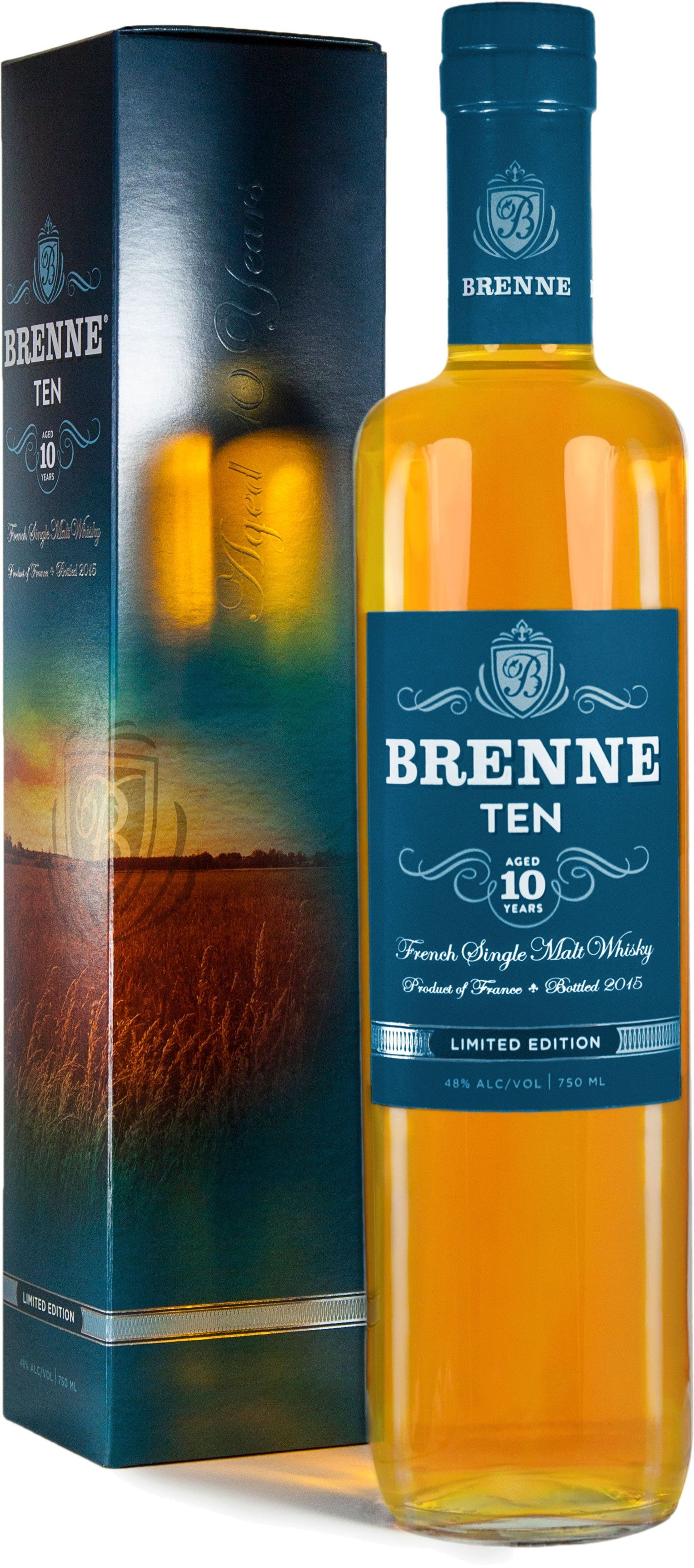 Brenne 10 Year Old French Single Malt Whisky Malt Whisky Single Malt Single Malt Whisky