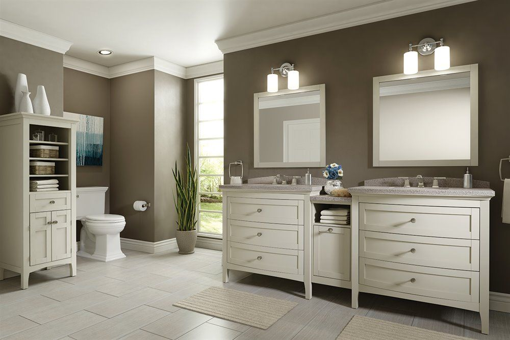 allen roth wrest park cream bathroom vanity with on lowes vanity id=75013