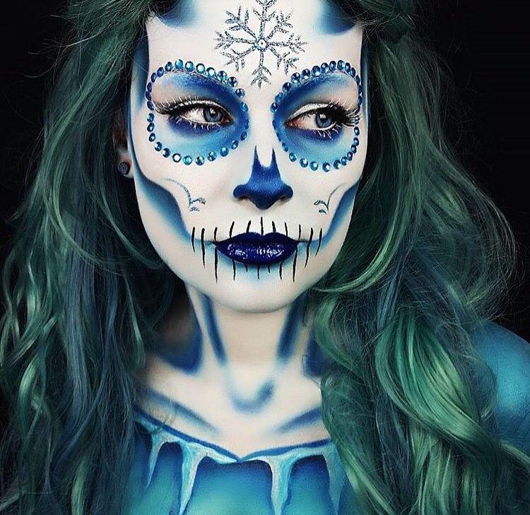 Maquillaje Sugar Skull