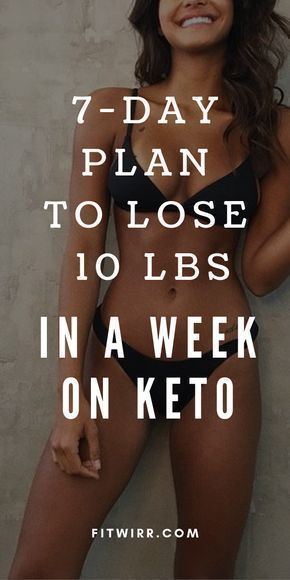 Keto Diet Menu: 7-Day Meal Plan for Beginners to Lose 10 LBS - Fitwirr