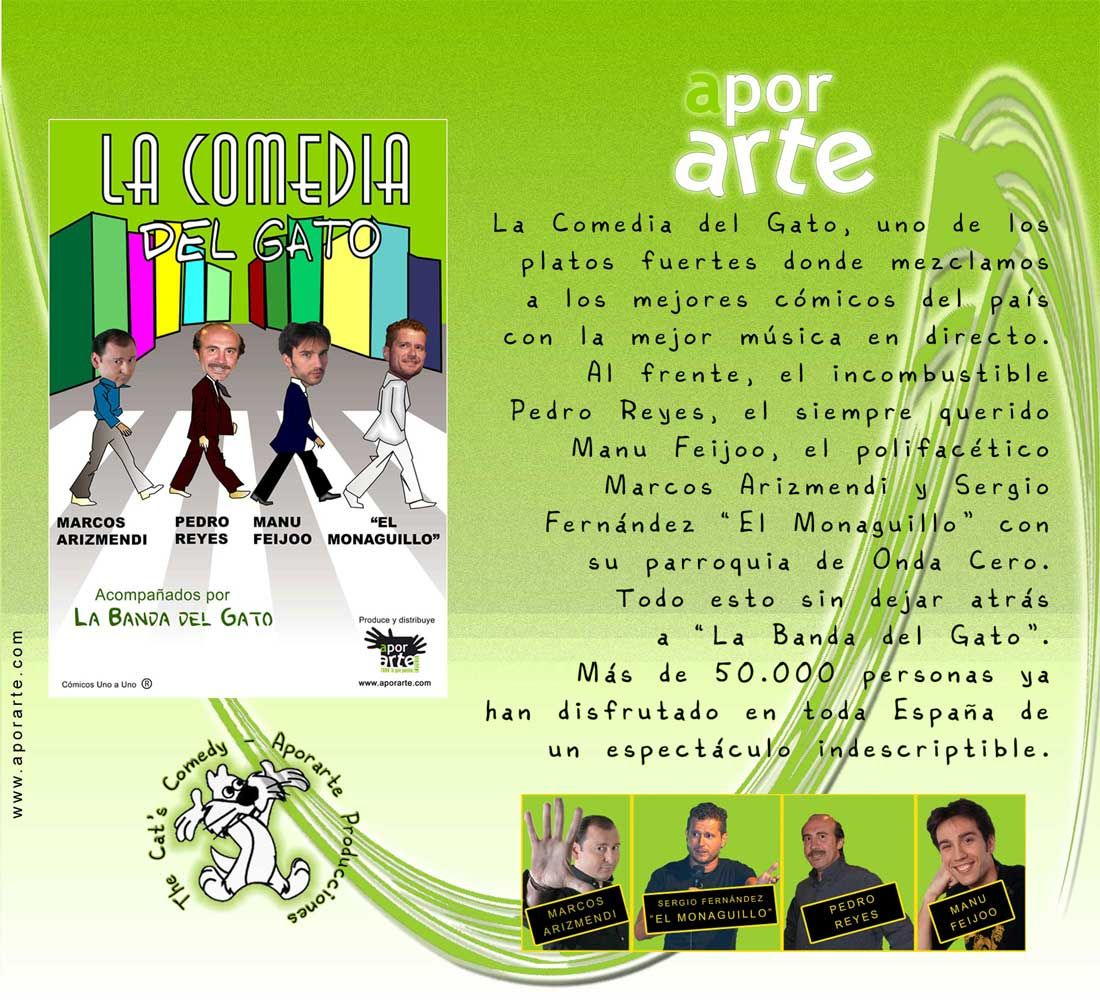 La obra de teatro más representativa de Cómicos Uno a Uno y Aporarte ...