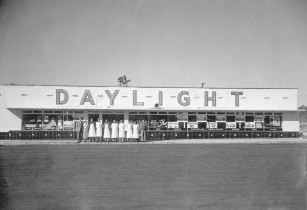 Florida Memory Daylight Grocery And Its Employees Florida Ferry Building San Francisco Jacksonville