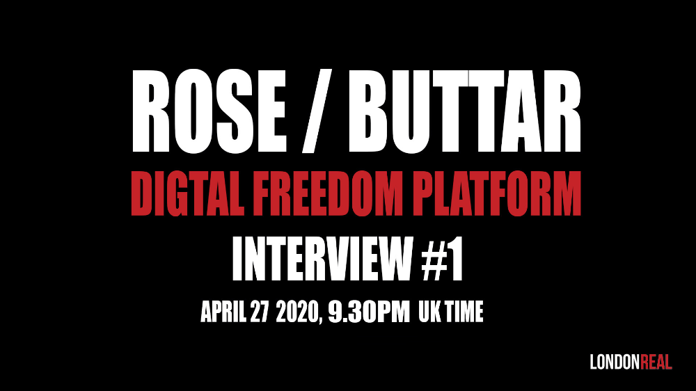 Digital Freedom Platform Interview 1 Dr Rashid Buttar London Real In 2020 Fight For Freedom Interview Truth