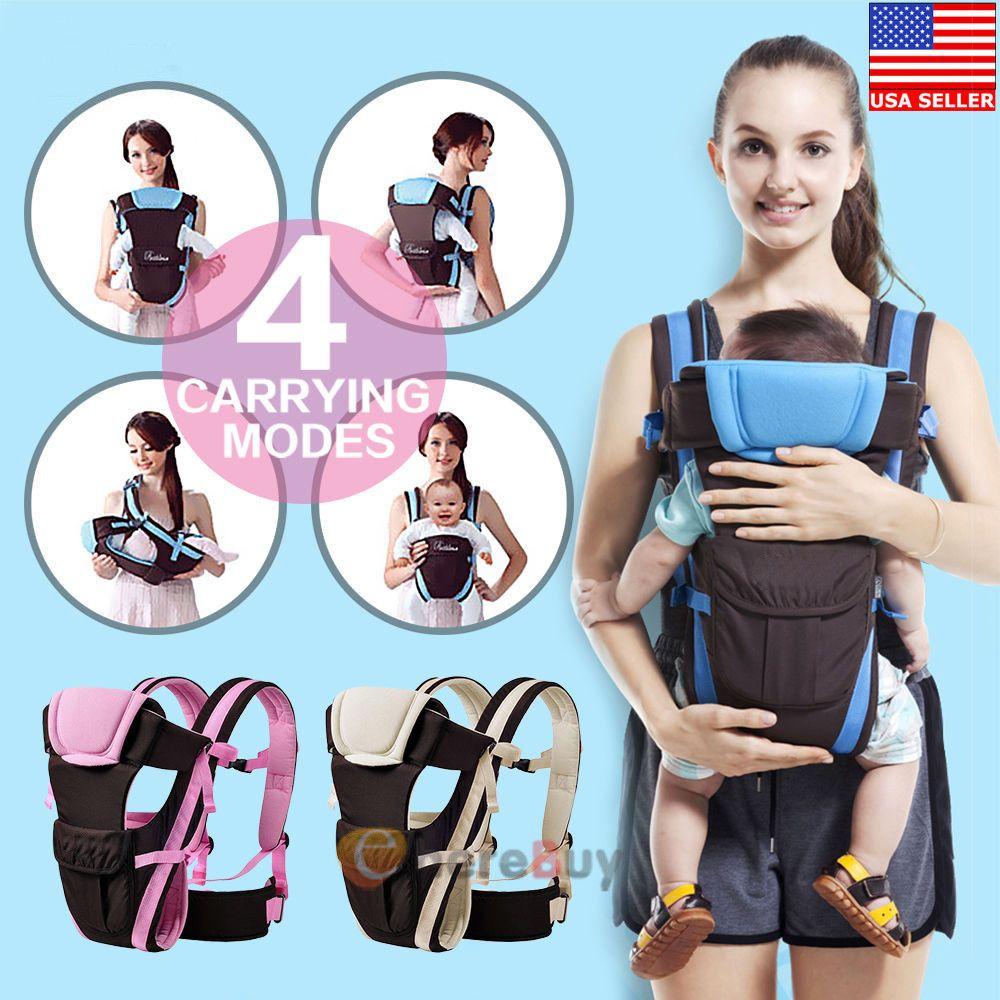15 99 Newborn Infant Adjustable Comfort Baby Carrier Sling Rider