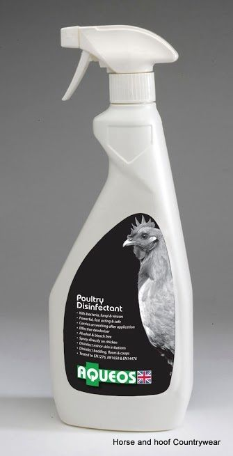 Aqueos Poultry Disinfectant Spray Disinfectant Spray Spray Poultry