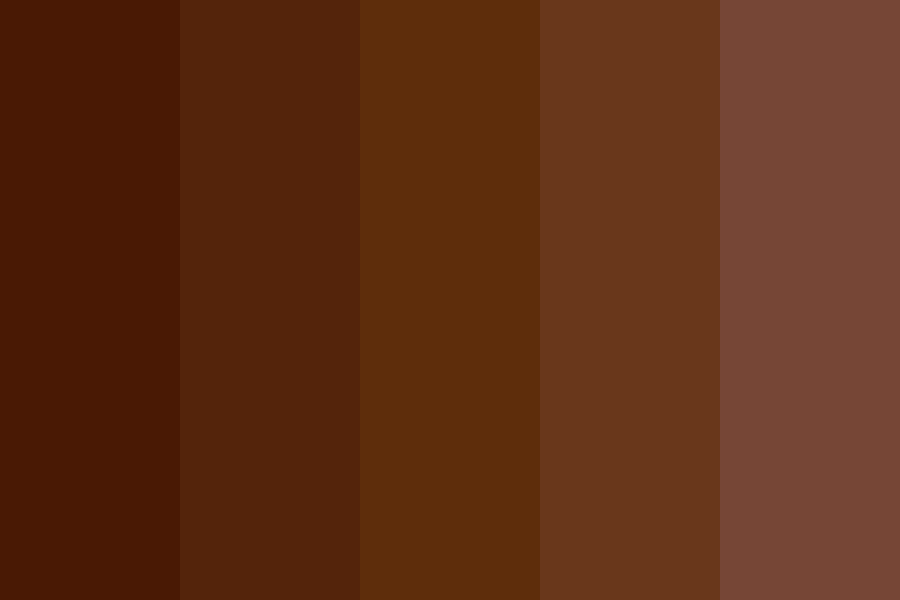 Brown D Color Palette