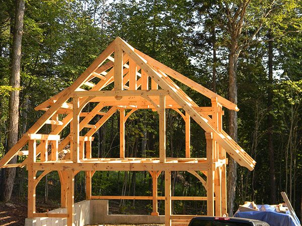 1000 Images About Construction On Pinterest Sheds Post And Beam And More Photos Barn Style Shed Shed Plans 12x16 Shed Plans