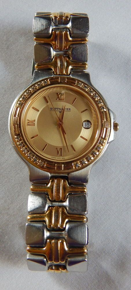 Wittnauer Watch Value >> Vintage Men S Wittnauer Ht 8068 9554 12 Hour Dial Silver