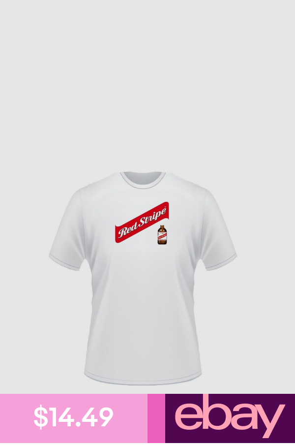 Red Stripe Beer T Shirts Clothing Shoes Accessories T Shirt Shirts Red Stripe