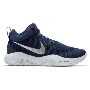2d810b3aaff3b5 Men s Nike Zoom Rev TB (Midnight Navy) Style Number  922048-401 Midnight  Navy Metallic Silver Cushion