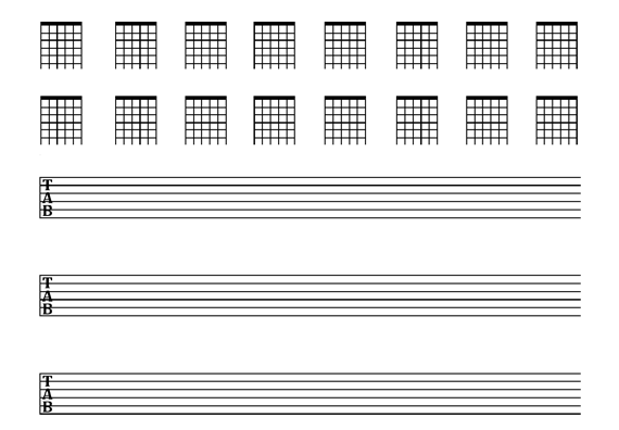 Image Result For Guitar Tab Sheet Template 6 String