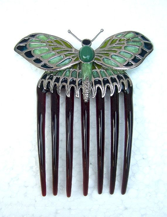 6cb10528e Hair comb Titanic replica butterfly comb hair accessory - FREE WORLDWIDE  SHIPPING