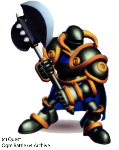Black Knight Male Class Guide - Ogre Battle 64 Archive | Character