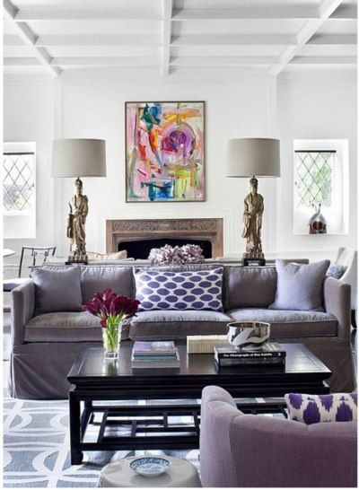 Do Try This At Home Mixed Prints Home Living Room Home Interior Design