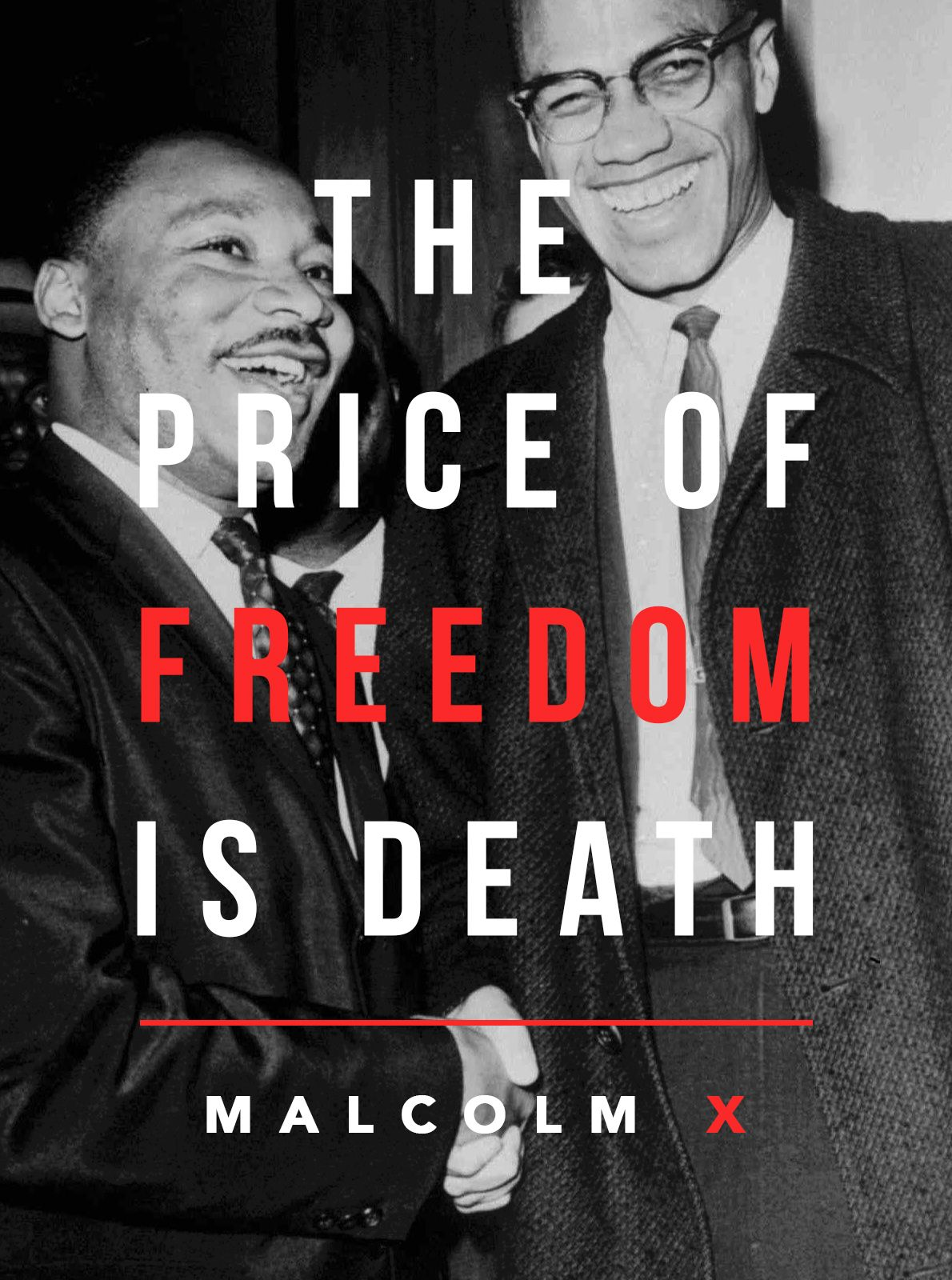 "[Quotes] ""The price of freedom is death."" Malcolm X. follow @dquocbuu like and repin it if you love it"