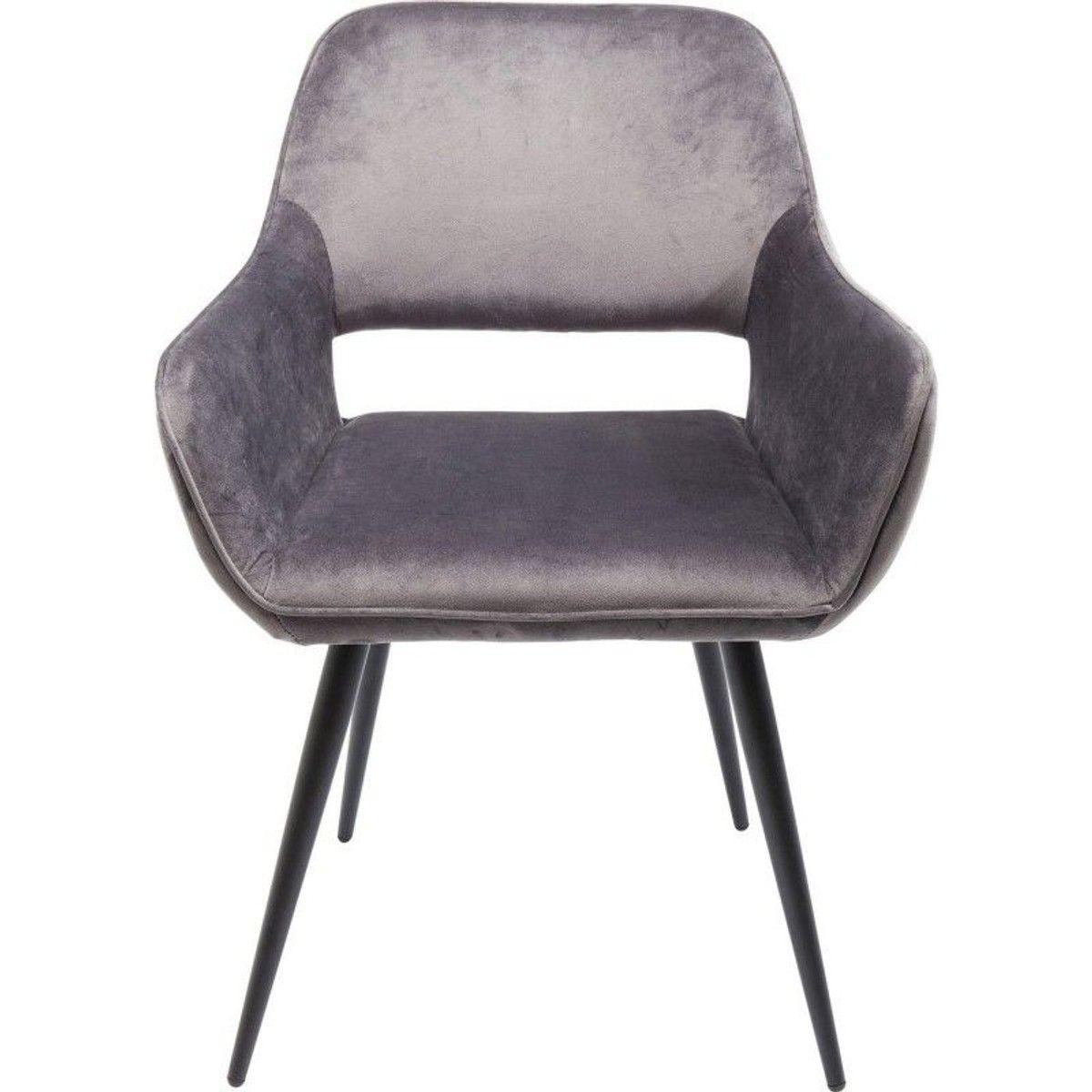 Chaise Avec Accoudoirs San Francisco Velours Stuhle Armlehnstuhl Kare Design