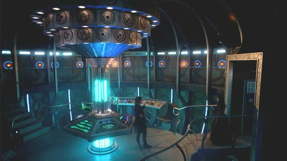 Gallifrey Falls No More Wallpaper Spoilers New Tardis Console Room Doctor Who Is Awesome