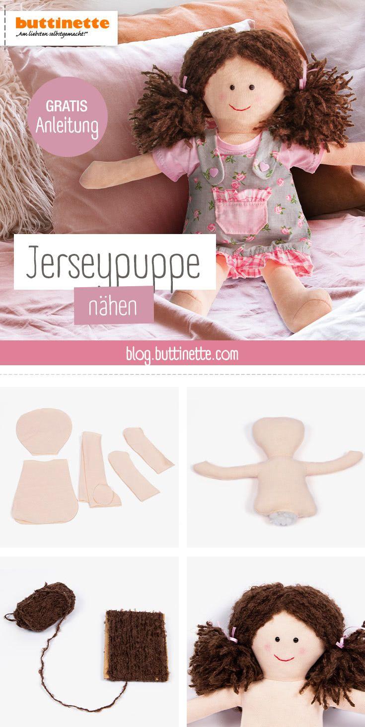 Gratis-Anleitung: Puppe selber nähen
