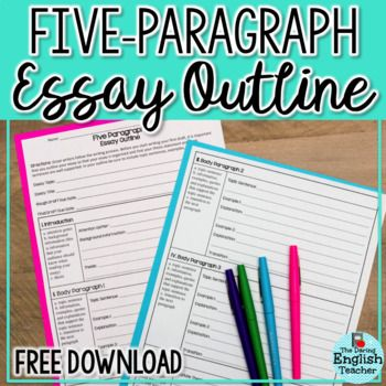 Free Five Paragraph Essay Outline  School Daze  Pinterest  Help Your Students Write Better Essays With This Structured Essay Outline  Resource This Free Teaching About English Language Essay also Cost For Business Plan Writer  An Essay On Newspaper