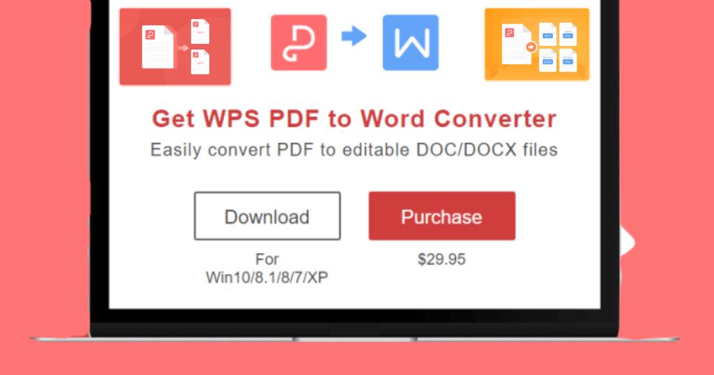 DOWNLOAD WPS PDF TO WORD CONVERTER 2019 Converter, Words